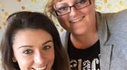 Becky Deeley en ik