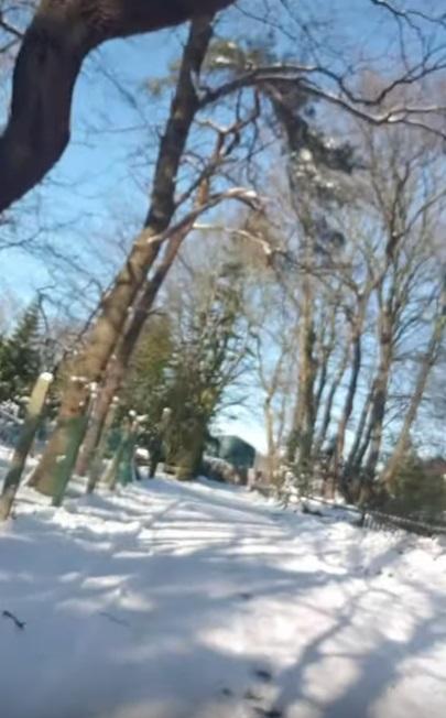 Hoera, een nieuwe datum! Eerste vlog op deze mooie winterdag