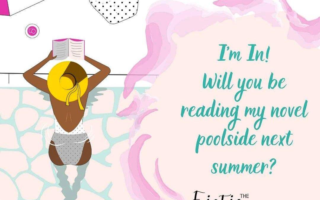 Lees je volgende zomer mijn boek bij het zwembad?